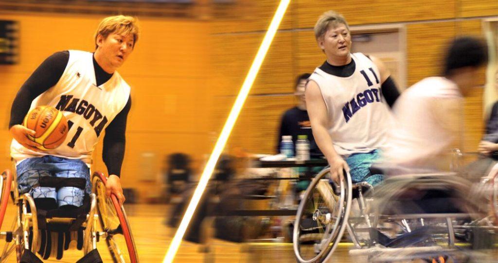 UT工業は車いすバスケットボール 那須智彦選手(名古屋WBC所属)を応援しています。
